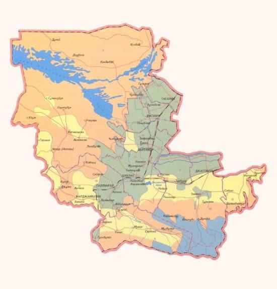 Джизакский район Узбекистана