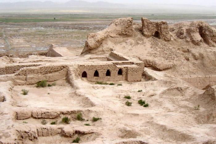 Крепость Топрак Кала