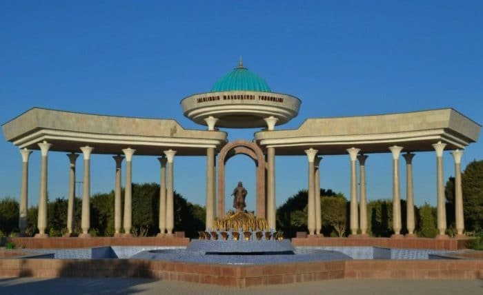 Мемориальный комплекс Джалолиддина Мангуберды