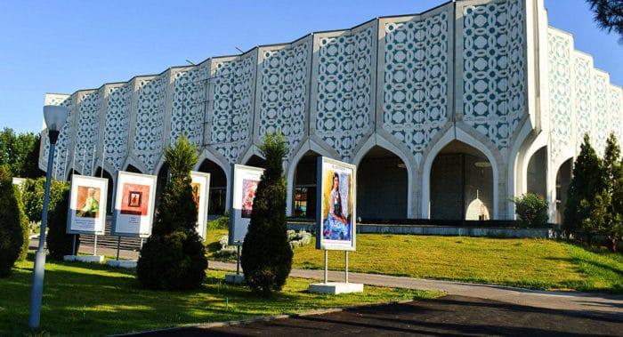 Музей искусств Узбекистана.