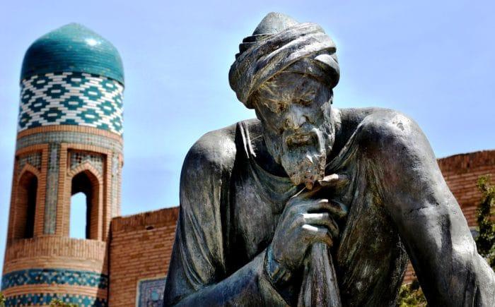 Памятник Аль-Хорезми