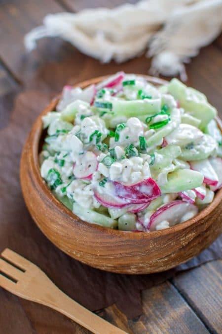 Веганский салат Ташкент
