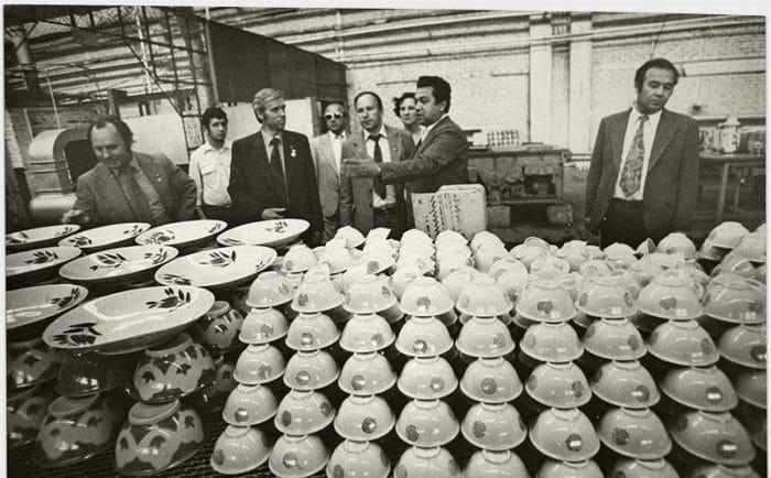 Самаркандский фарфоровый завод