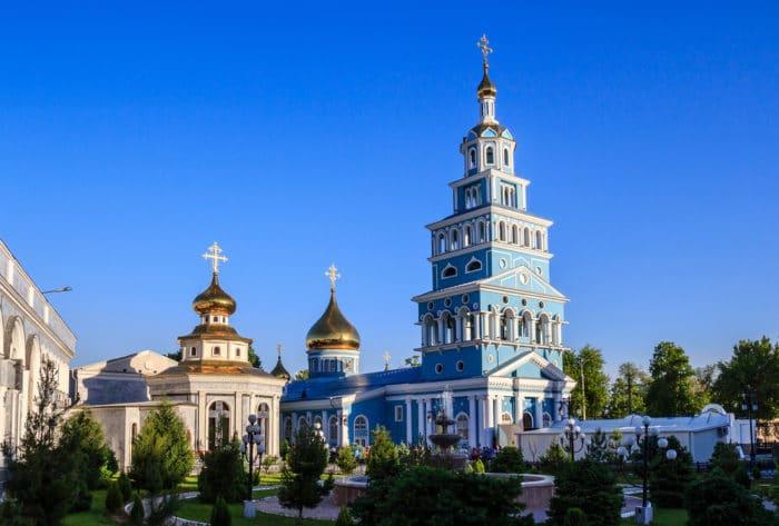 Успенский собор в Ташкенте