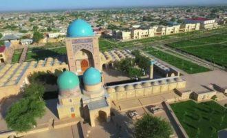 Узбекистанский город Шахрисабз