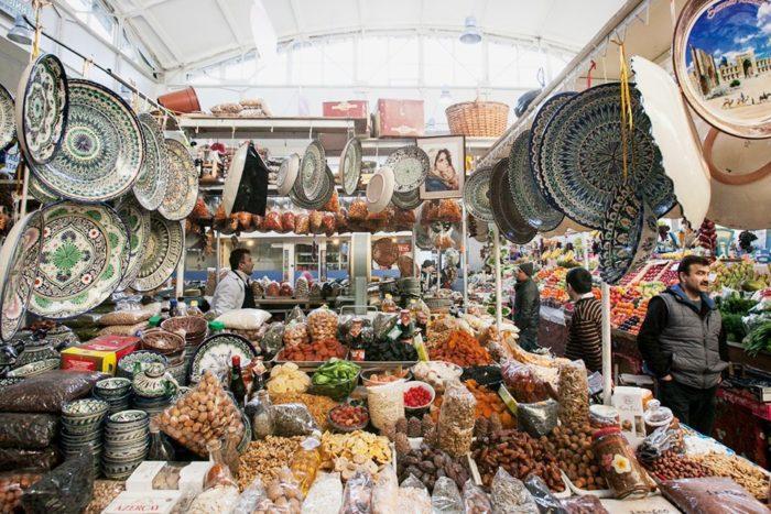 Восточный базар Чорсу
