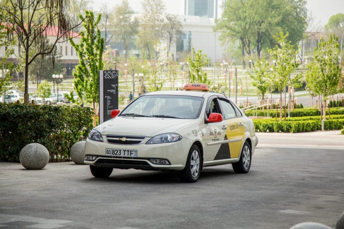 Яндекс такси в Узбекистане