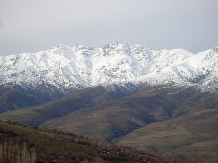 Есть ли горы в Узбекистане