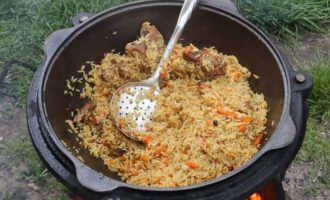 Вкуснейший плов из риса басмати