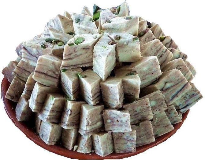 Рецепт молочной халвы по-узбекски.