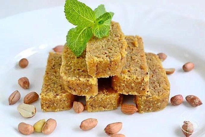 Рецепт арахисовой халвы.