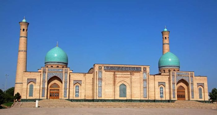 Медресе Муйи Мубарак (Музей Корана Усмана).