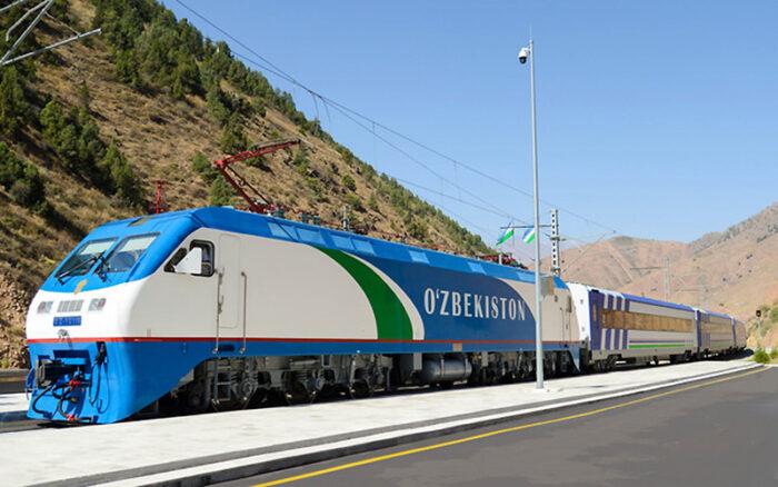 Афросиаб поезд Узбекистан