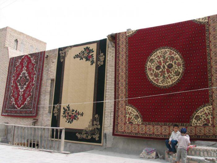 Узбекские национальные ковры