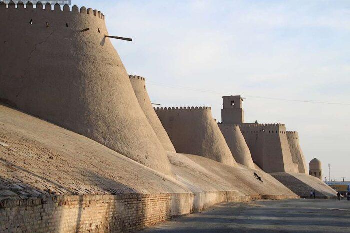 Город ветров Узбекистан Хорезм