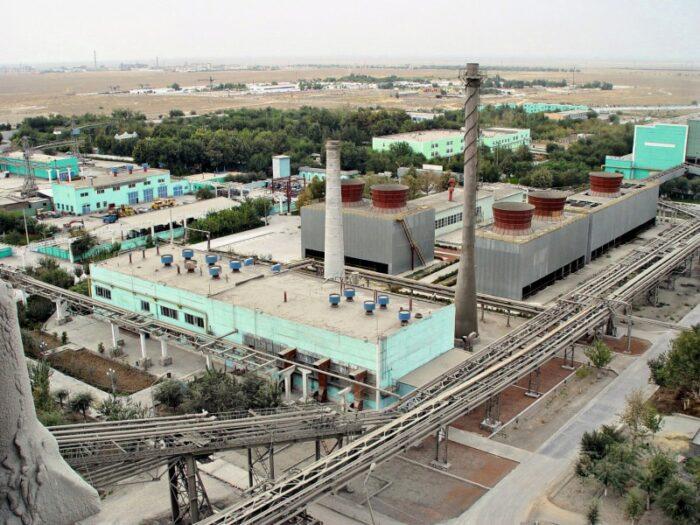 Узбекистан Навои металлургический завод