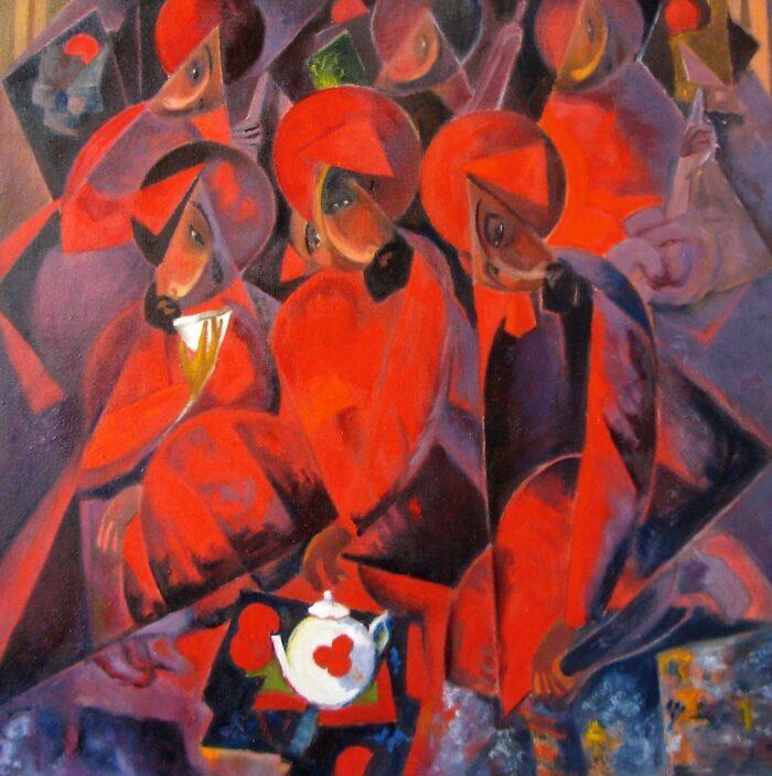 Картина «Гранатовая чайхана»