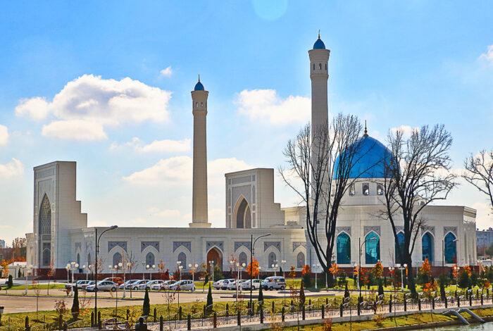 Мечеть минор Узбекистан