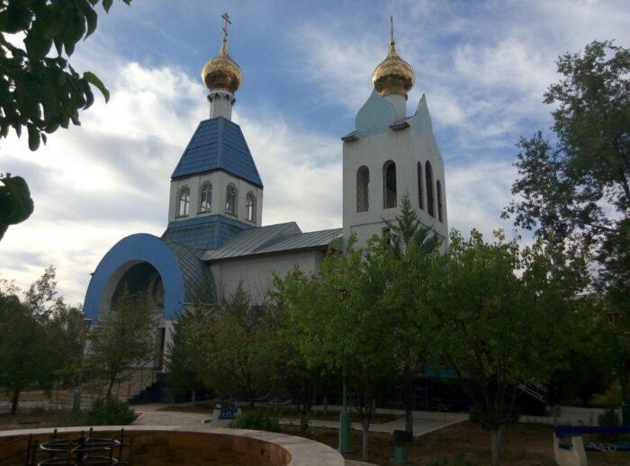 Учкудук Церковь