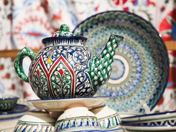Гончарное искусство Узбекистана
