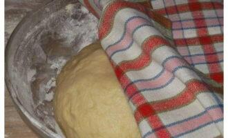Тесто в теплом месте