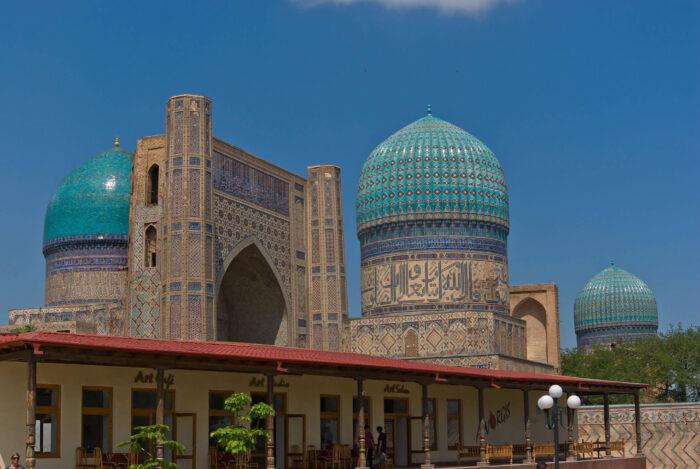 Мечеть Бибиханум Самарканд