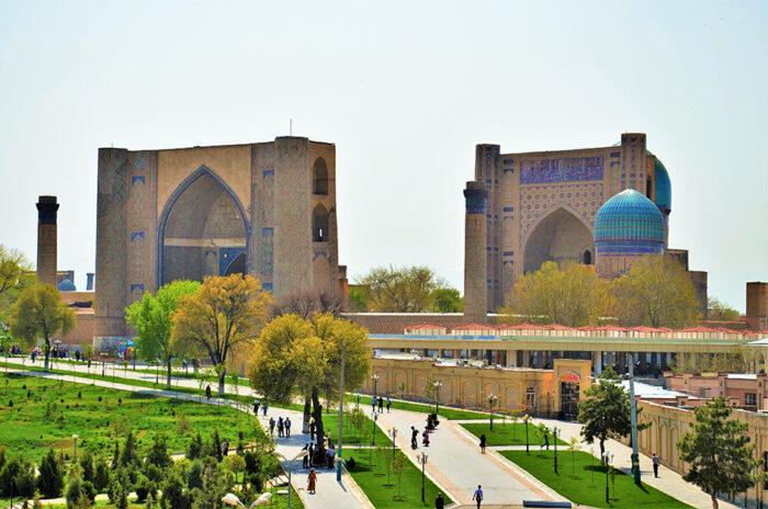 мечеть Бибы Ханым