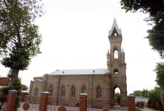 Церковь святого Иоанна Крестителя в Самарканде