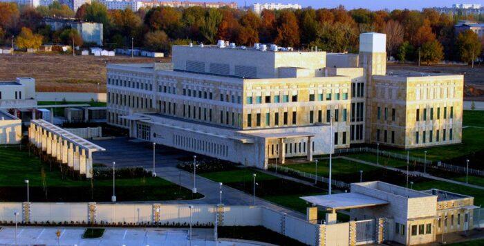 Американское посольство в Ташкенте