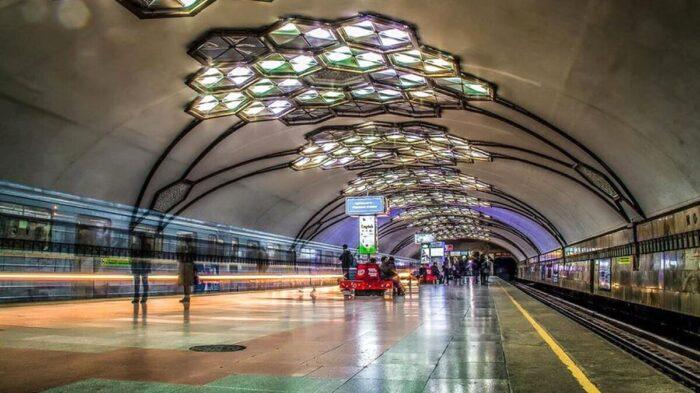Станция метро Хамза Ташкент