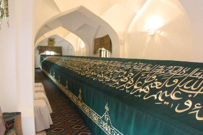 Узбекистан могила пророка Даниила