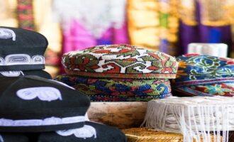 Национальная тюбетейка Узбекистана