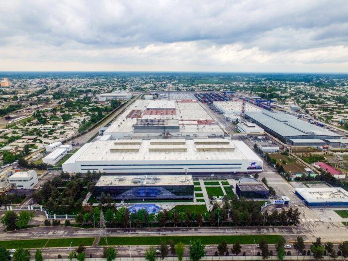 Автомобильный завод Асака Узбекистан