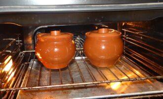 Готовка в горшочках в духовке