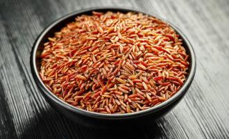 Красный дикий рис
